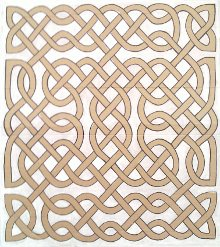 Celtic knot poster